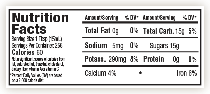 molasses-nutrition